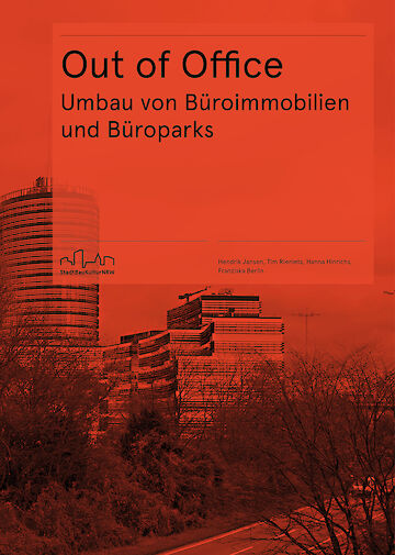 Cover der Publikation Out of Office. Foto: Baukultur Nordrhein-Westfalen