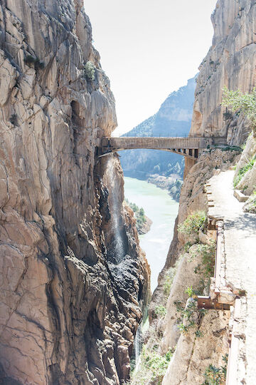 Caminito del Rey. Foto: Michael131977 via Flickr, CC BY-SA 3.0 (Own work), via Wikimedia Commons.